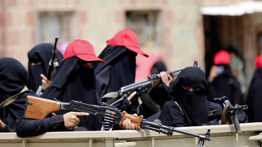 الجوف: ضبط خلية نسائية تابعة للحوثيين تزرع الالغام