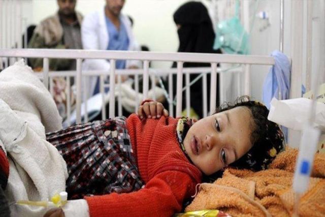 صنعاء: موظفي مراكز معالجة الكوليرا يضربون عن العمل